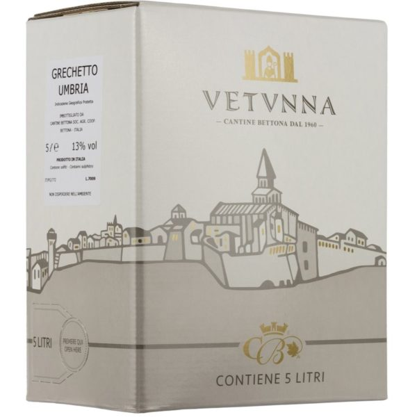 vini bianchi Umbria Bag in Box 5 Litri